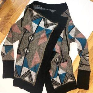 BB Dakota Sweaters - 🆕 JACK / western aztec print open cardigan